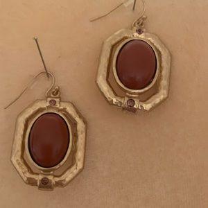 Necklace, earrings, set.